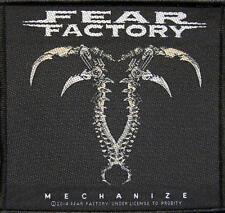 "FEAR FACTORY AUFNÄHER / PATCH # 11 ""MECHANIZE"""