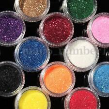 16 Mixed Colors Glitter Loose Powder Eyeshadow Eye Shadow Cosmetics Salon Set