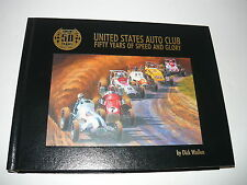 USAC 50 YEARS 1956-2005 UNITED STATES AUTO CLUB,50 YRS SPEED & GLORY,DICK WALLEN