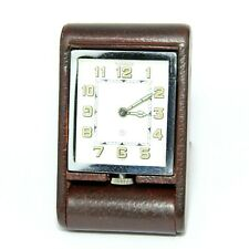 More details for jaeger-lecoultre 1920 / 30s  jaeger 8 day traveling / desk alarm clock