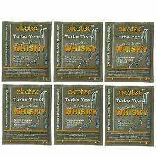 Alcotec Whiskey Turbo Distillers Yeast (Pack of 6)