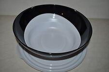 Tupperware Eleganzia Schüssel 3,2 Liter Salatschüssel mit Deckel schwarz/weiss