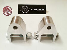"[SR] 94-17 Dodge RAM 1500 Front /Rear Shock Extenders Brackets for 2"" to 4"" Lift"