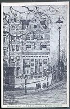 Esperanto – PK 21-a Kongreso de SAT Amsterdam 1948 – Prinsengracht (2)