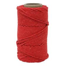 5 mm Chunky Bakers Twine-Craft Gift Wrap Corde Ruban Épais de couleur ficelle