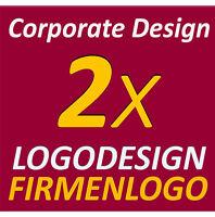 2x Logo Vorschläge Design Erstellung Firmenlogo Entwicklung ihres Logodesigns