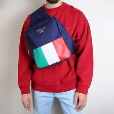 VINTAGE Moschino PROFUMI Borsa Cross Corpo Uomini amici ITALIAN FLAG