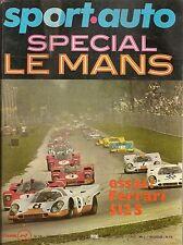 SPORT AUTO 101 1970 GP MONACO GP ESPAGNE 1000KM MONZA TARGA FLORIO FERRARI 512 S