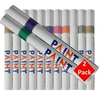 Oil Based Paint Marker Pen - Pack of 2 - 11 Colours Available - UK Stockist