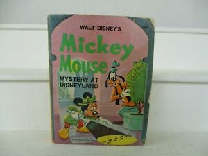 Walt Disney's Mickey Mouse Mystery At Disneyland A Big Little Book