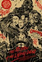 Return of the Living Dead Poster Print by Johnny Dombrowski xx/175 MONDO