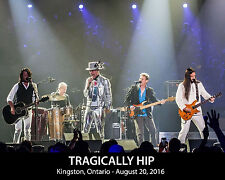 Tragically Hip - Kingston Ontario (Aug.20, 2016) Band Concert Photo, 8x10 Photo