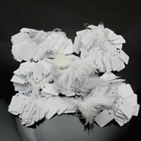 475-525 pcs Wholesale White Paper Label Tie String Price Tag Watch Display