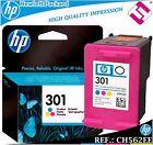 TINTA TRICOLOR 301 ORIGINAL IMPRESORAS HP CARTUCHO COLOR HEWLETT PACKARD CH562EE