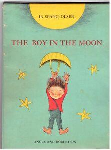 IB Spang Olsen The Boy In The Moon Angus & Robertson 1st U.K. Edition 1971 HC/DJ