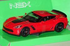 Chevrolet Corvette Z06 rot 1:24 Welly 24085 neu + OVP