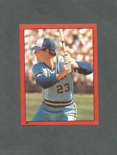 1982 O-Pee-Chee Baseball Sticker Ted Simmons #201 Milwaukee Brewers *MINT*