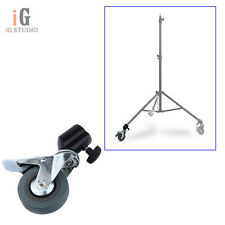 1Pcs Photo Studio Heavy Duty Universal Caster Wheel For Light Stands Studio Boom