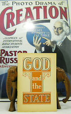 God and the State 1941 booklet Rutherford Watchtower Jehovah