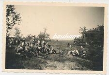 Foto Motorrad-Funkwagen-Soldaten  (a391)