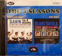 THE 4 SEASONS 'Dawn (Go Away)/Rag Doll' - 2LPs on 1CD - 24 Tracks on ACE