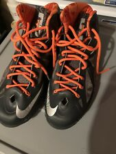 Nike Lebron 10 X BHM Black History Month 583109-001 RARE Size10