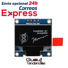 "Pantalla Modulo Display OLED 0,96"" Blanco LED Arduino 128x64 IIC SPI Raspberry"