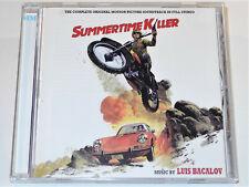 Luis Bacalov THE SUMMERTIME KILLER RICATTO ALLA MALA UN VERANO PARA MATAR CD VG