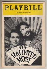 "Harvey Fierstein ""The Haunted Host""  &  ""Safe Sex""  Playbill  1991"