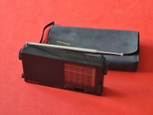 Portables Radio Modell RK 621 von Siemens aus dem Jahr 1985 !!!