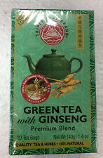 Triple Leaf Green tea with ginseng 20bags