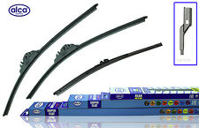 "VW Golf V 2006-2009 ALCA super flat wiper blades  SET of 3 24""19""12"""