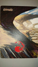 MAGIC MTG BASIC MOUNTAIN ALTERED FULL ART HAND PAINTED NEW BY DEMIAN SOLIS