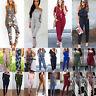 Fashion Women Jumpsuit Playsuit Casual Party Romper Long Pants Trousers Clubwear