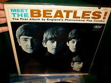 MEET THE BEATLES FEB 1964 DECCA  ORIGINAL 50 YEARS VG++ WAX LENNON WOODY