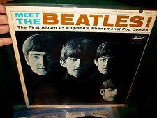 MEET THE BEATLES FEB 1964 DECCA  ORIGINAL 50 YEARS VG++ WAX LENNON WOODY