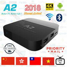 2019 Newest A2 TV BOX Well as HTV5  Chinese/HongKong/Taiwan Live TV  IPTV 4K
