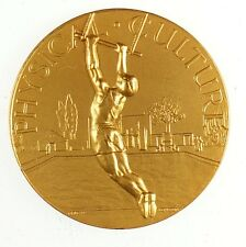 Britain sports gymnastics PHYSICAL CULTURE By Pinches London thin embossed gilt