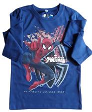 Jungen LangarmShirt Marvel Ultimate Spider-Man Große 98-122 Baumwolle