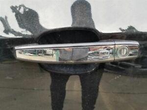 13-17 Buick Verano Front Left Exterior Door Handle Chrome/Black 01A OEM 13577716