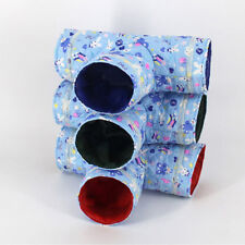 3 Way Small Animal Pet Tunnel Rabbit Ferret Guinea Pig Exercise Toy Pet Tube S
