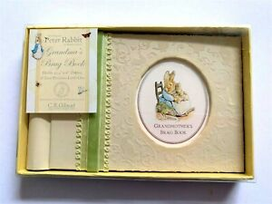 Beatrix Potter GIBSON grandmother's brag book deluxe photo album Peter Rabbit