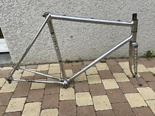 Rare Wolhauser By Raymond Clerc Frame Alloy Size 55 First Génération Small Crack