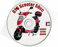 Chinese Scooter 50cc GY6 Service Repair Shop Manual on CD BASH BASHAN VIP TAOTAO