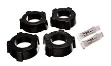 Energy Suspension Spring Plate Bushing Set Black Rear for 54-68 Beetle 15.2108G