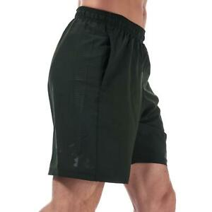 Under Armour Mens Gym Sports Summer Casual Shorts Artillery Green