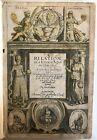 1637 Sandys RELATION OF A JOURNEY Turkish Empire Egypt Holy Land Italy Travel