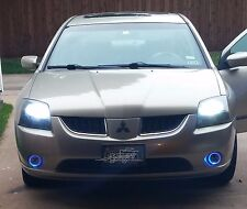 2004-2008 Mitsubishi Galant Blue Halo Fog lamps Angel Eye Fog lights Kit