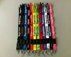 Supreme Lanyards Detachable Keychain Phone Holder Strap FREE SHIPPING! SALE!!!!!