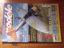 $$a5 Revue modele magazine N°603 Plan encarte Ti-Gus  Corsair F4U  Piper J3